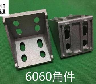 النوع: 6060-دعامة الزاوية اليمنى من الألومنيوم القياسي الأوروبي بزاوية 90 درجة