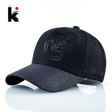Snapback Baseball Cap Women Scorpion Embroidery Hip Hop Bones Shinning Visor Kpop Caps Men Flashing Trucker Hat Casquette Homme