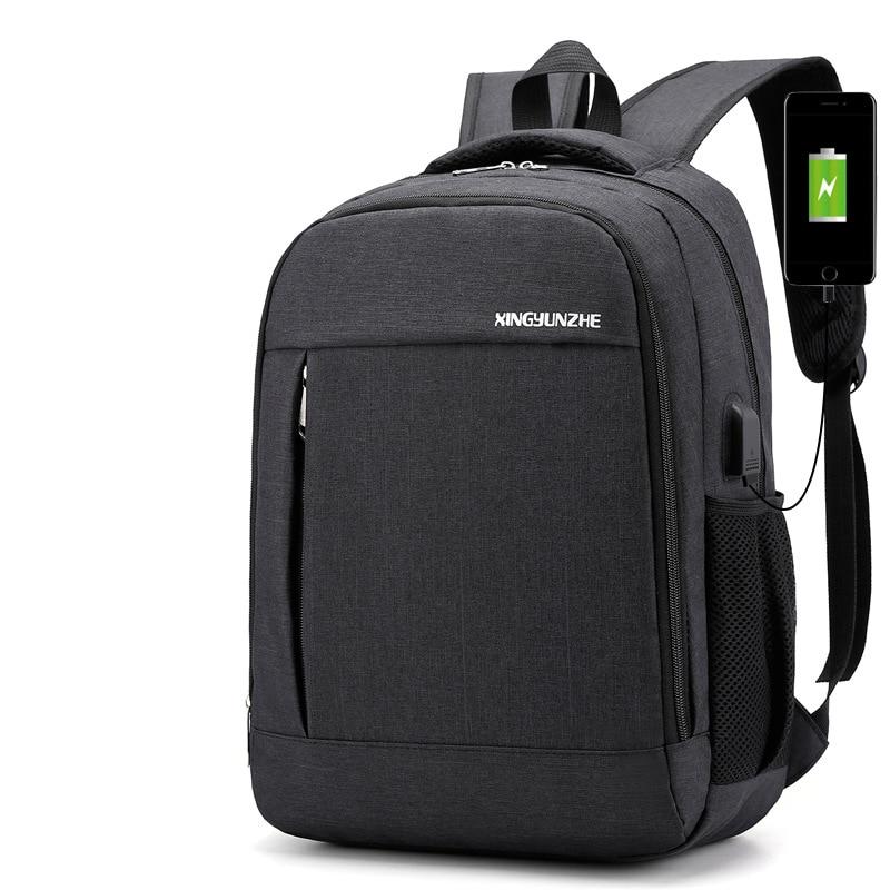 2019 mens usb charging waterproof backpack leisure backpack travel pack schoolbag sport fashion school bag book bag for male