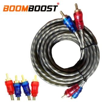 Cable amplifier subwoofer Audio Video Cable Male to Male for CD connect  amplifier Subwoofer Tube machine