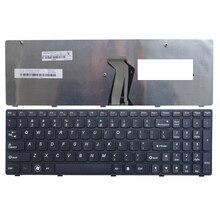 Nouvelle Anglais Remplacer Le clavier dordinateur portable Pour Lenovo G580 Z580 G580A V580A Z580A G580AH G580AM G580G G585 G585A G585AR B580 G590 NOUS
