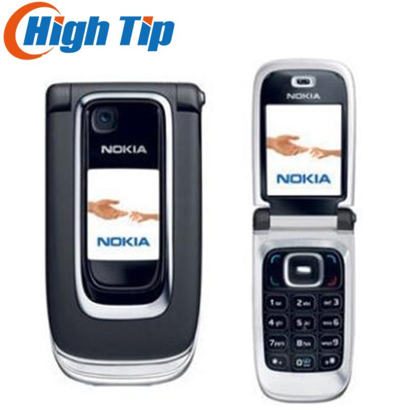 Original Nokia 6131 Unlocked cell phone support russian keyboard russian menu free shipping Refurbished one year warranty