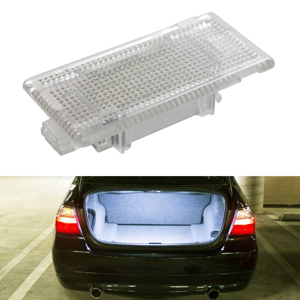 1 шт. 24SMD Led Footwell багажный багажник интерьерный светильник бардачок лампа без ошибки для BMW X5 E46 E39 E84 E90 E91 E92 E53 F10 F01 F02