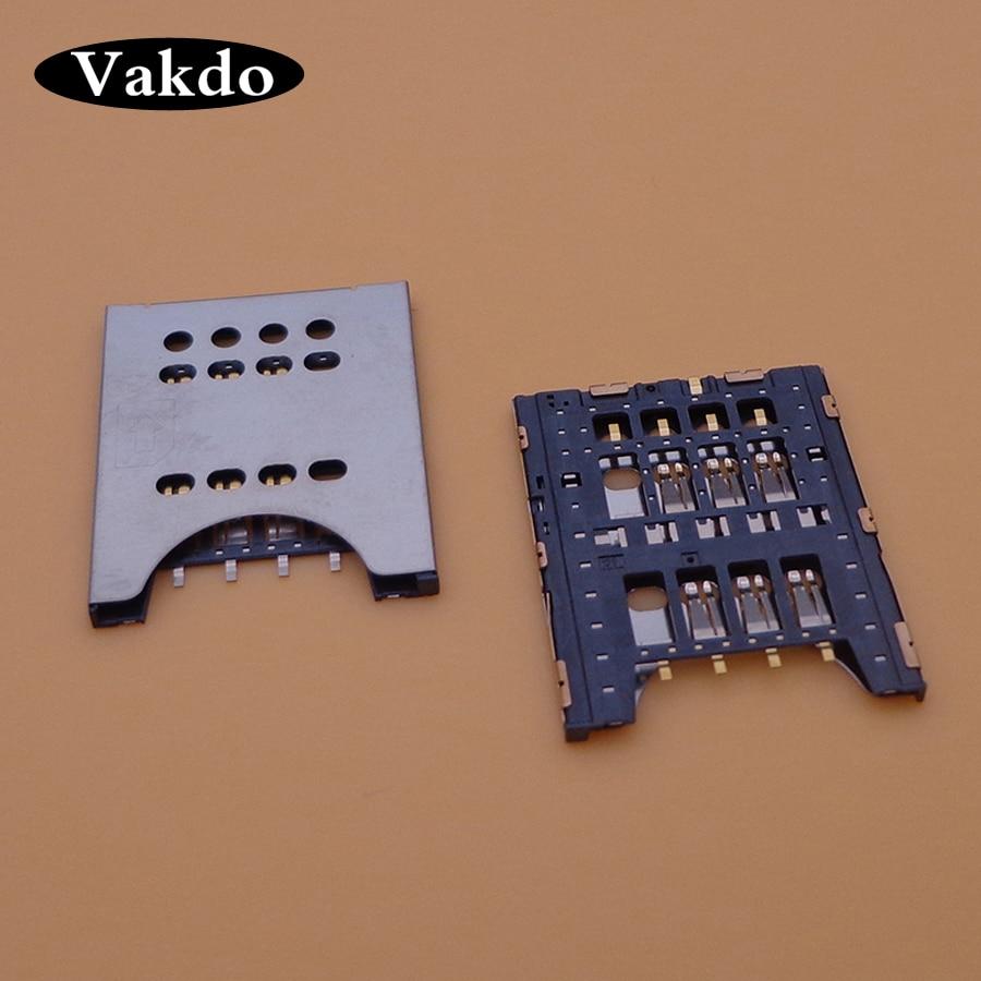 1 teile/los, neue für Sony MT27i MT27 ST26 ST26i ST18 ST18i MK16I MK16 sim kartenleser stecker halter slot sockel Reparatur teile