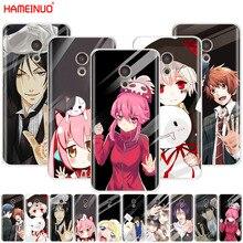 HAMEINUO japanese anime girl touch glass kawaii phone Case for Meizu M6 M5 M5S M2 M3 M3S MX4 MX5 MX6 PRO 6 5 U10 U20 note plus