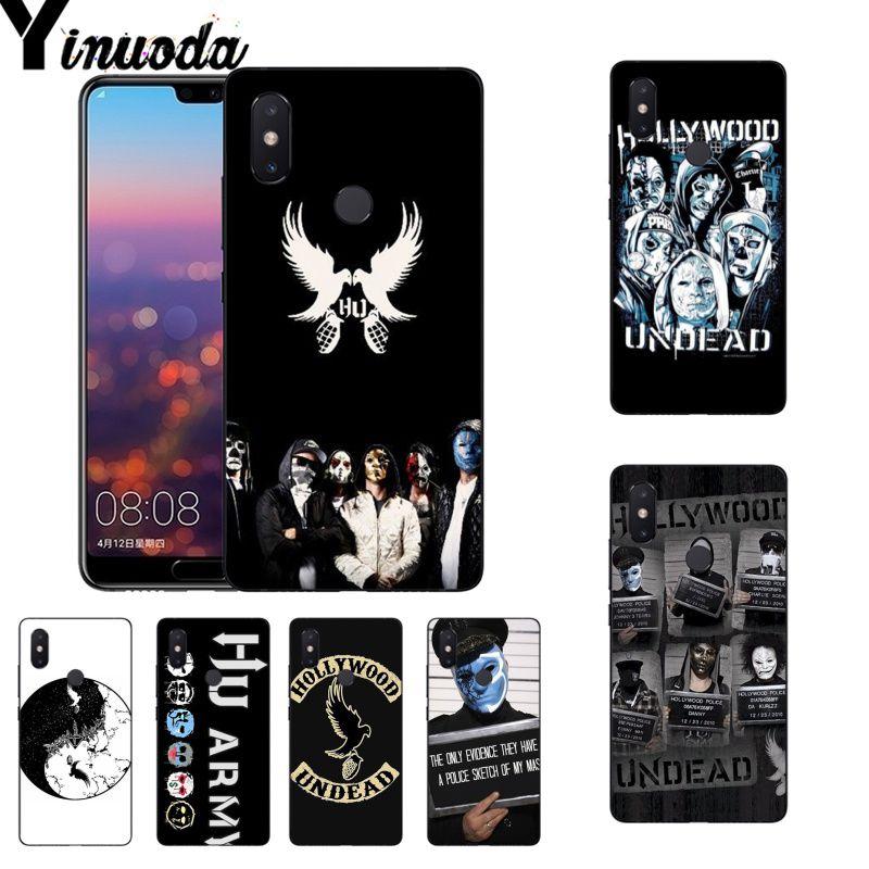 Yinuoda Hollywood Undead Coque Coque étui de téléphone pour xiaomi mi 6 mi x2 mi x2S Note3 8 8SE Rouge mi 5 5 Plus Note4 4X Note5