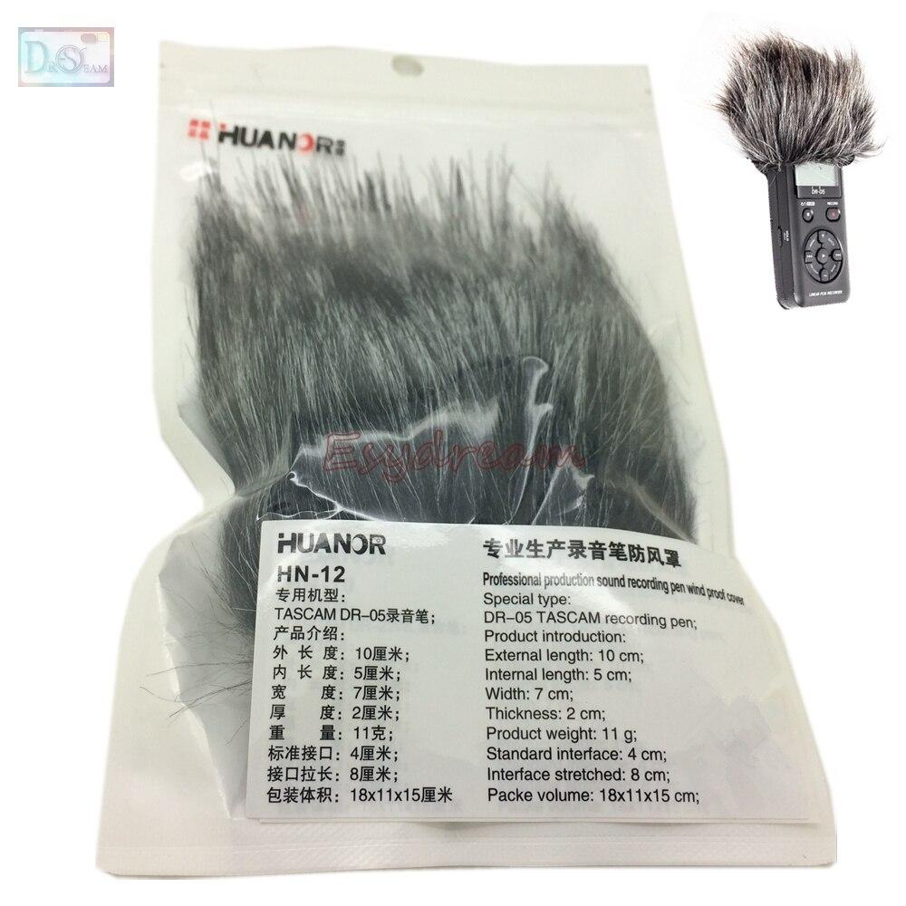 Профессиональный открытый микрофон пушистая крышка ветровое стекло муфта для TASCAM DR-05 DR05 микрофон Deadcat ветровой щит