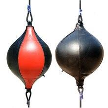 Balle de frappe PU poire sac de Boxe réflexe vitesse balles Muay Thai poinçon Boxe MMA Fitness équipement de sport formation adultes gonflable
