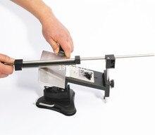 Update Professional Kitchen Knife Sharpener System Fix-angle 4 Sharpening Stones