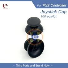 HOTHINK 100 teile/los Neue Ersatz Rechts Links 3D joystick stick analog abdeckkappe Thumb-Sticks für PS2 Controller Dualshock 2