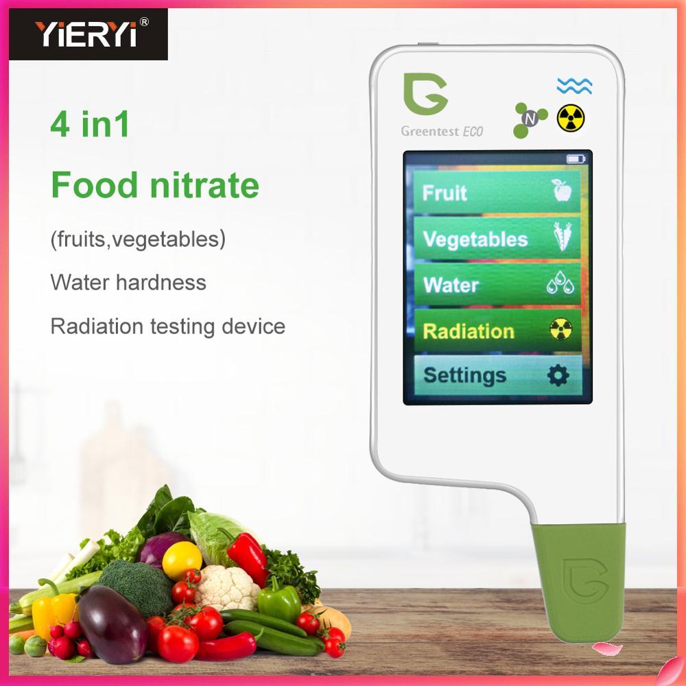 GREENTEST ECO V5 نترات بقايا المبيدات الخضروات/الفواكه/الإشعاع/جودة المياه الغذاء اختبار السلامة البيئية