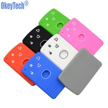 OkeyTech 4 Taste Silikon Remote Karte Schlüssel Abdeckung Für Mazda 2 3 5 Premacy Miata 6 8 RX8 MX5 M8 CX-7 CX-9 Verisa MPV Fob Schutz