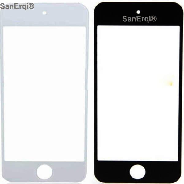 SanErqi 50 pcs LCD avant écran tactile verre pour iPod Touch 5th Gen lentille extérieure pour ipod Touch 5 lcd verre extérieur