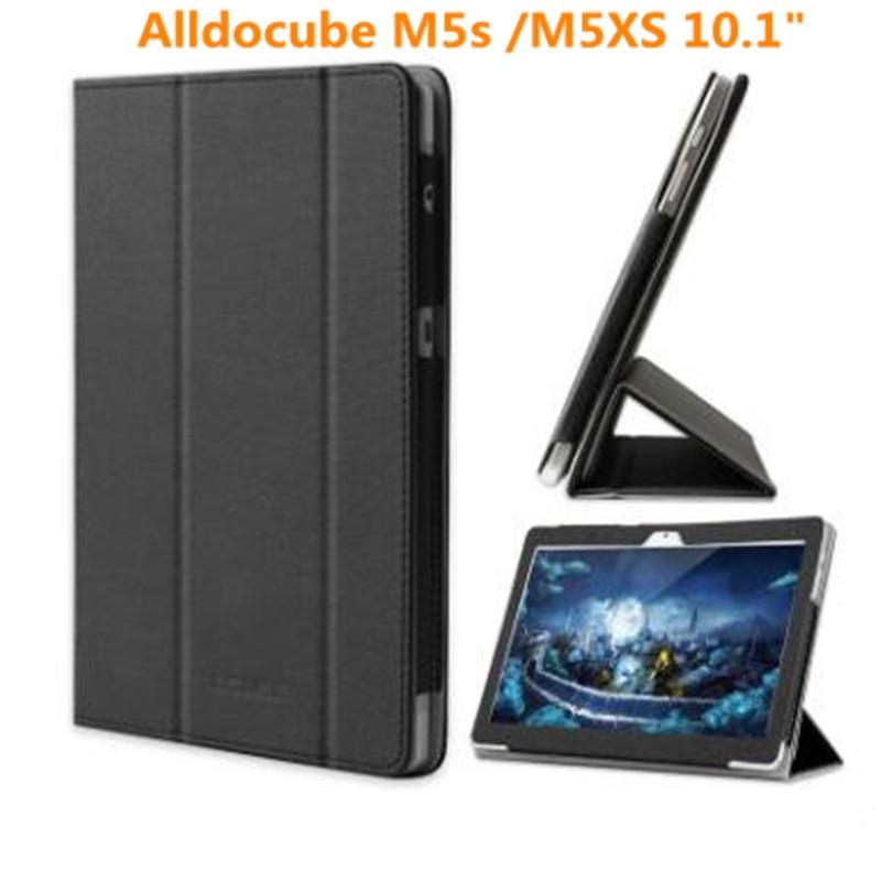 Модный защитный складной чехол-книжка из искусственной кожи для alldocube m5s/m5xs для 10,1-дюймового планшетного ПК, чехол с бесплатными подарками