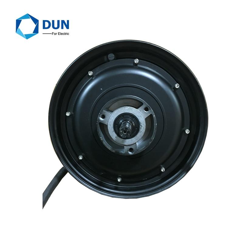 Yuyang 48v-72v 10x2,15 inch 10*3,0 inch 2000W 205 45H WP бесщеточный мотор ступицы колеса для скутера