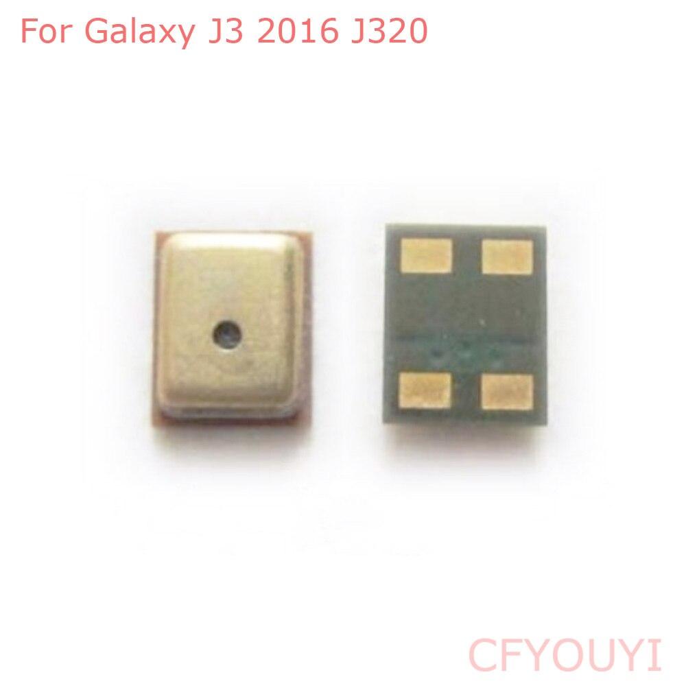 Piezas de repuesto para Samsung Galaxy J3 2016 J320 J320F, micrófono, altavoz, receptor, 1 ~ 10 piezas