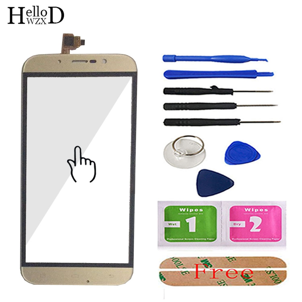 5.5inch Touch Screen Glass For UMI ROME UMI ROME X Touch Screen Touch Digitizer Panel Front Glass Tools Adhesive