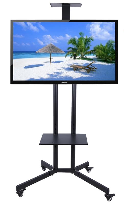 32-60 zoll LCD LED Plasma TV Montieren Bodenständer Carts/Trolley Mit DVD Halter Und Kamera halter