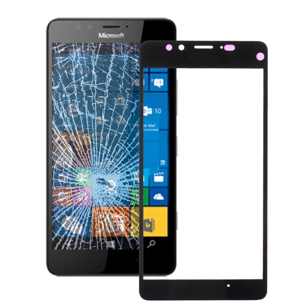H lente de cristal exterior de pantalla frontal para Microsoft Lumia 950