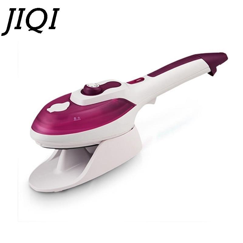 Vaporera portátil de mano para ropa, Mini ropa eléctrica, cepillo de vapor, máquina de planchar tela, plancha de cerámica, enchufe EU US