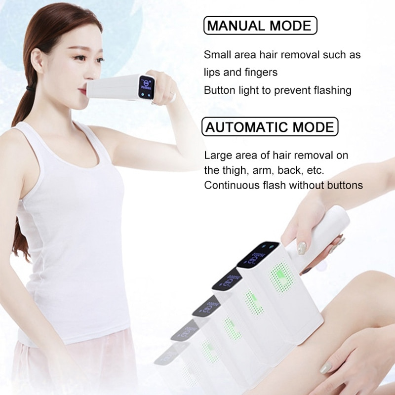 Lescolton T012C 4in1 ICECOOL Painless Depilador a laser Device Permanent Hair Removal IPL Laser Epilator Hair Removal Machine enlarge