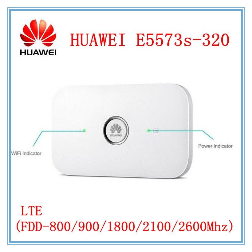 Desbloqueado Huawei E5573 E5573s-320 150Mbps 4G LTE Cat4 móvil hotspot móvil Router Wifi inalámbrico E5573Bs-320