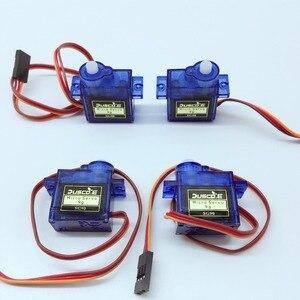 Оптовая продажа 5 шт./партия SG90 9G микро сервомотор для робота 6-канального управления вертолетом самолетом для Arduino NUO R3