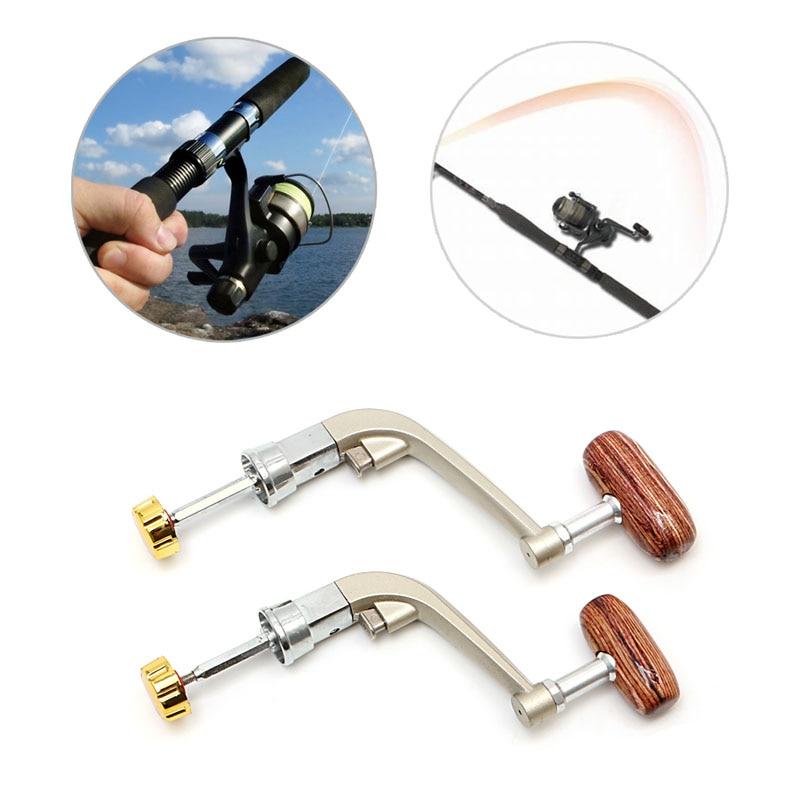 Pomo giratorio de Metal L/M, mango de pesca, carrete giratorio, aparejos de pesca, herramienta de pesca, piezas de pesca 1 pieza