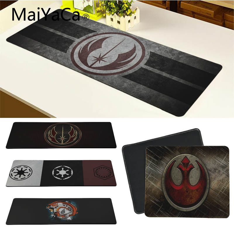 900x400x2mm speed grande dota 2 game mouse pad computer gaming natural rubber mouse pad gamer play mat version keyboard mousepad MaiYaCa Star Wars Simple Design Speed Game Mouse Pads Computer Gaming Mouse Pad Gamer Play Mats Version Mousepad For CS GO Dota