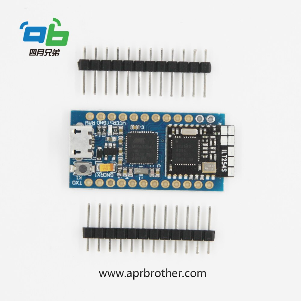 Placa de desarrollo Arduino BlueDuino Rev2 BLE 4,0 con cargador LiPo y Cable MicroUSB