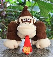 10 26 cm Anime Super Mario Bros singe âne Kong doux peluche jouets poupée enfants cadeau