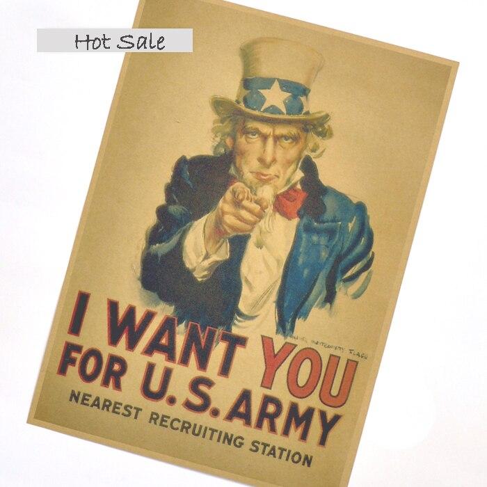 Винтажный постер «мировая война 2», армейские постеры США, настенный стикер, ретро Рисунок, для бара, для кафе, украшения дома, печать, изображение 4х30 см, ZJP-M110