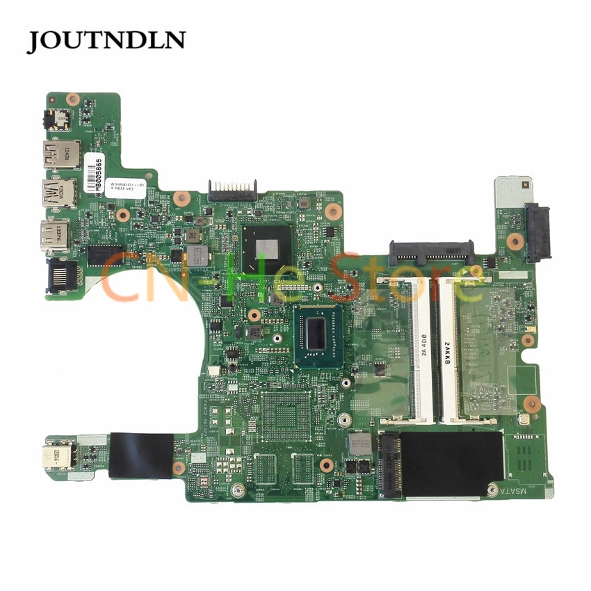 JOUTNDLN для DELL INSPIRION 15Z 5523 DMB50 Материнская плата ноутбука XWPTW 0 XWPTW MB 11307-1 w/I3-3217U cpu