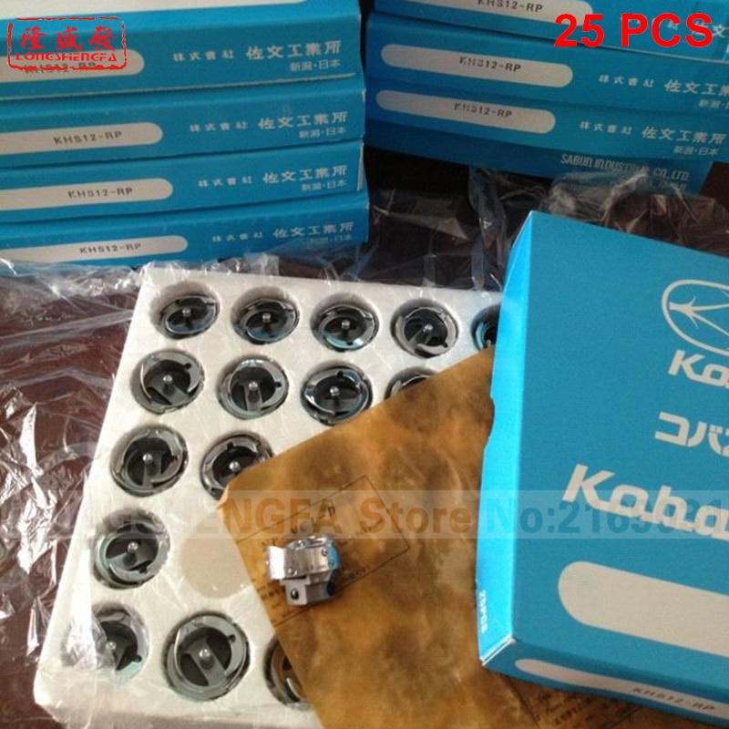 25pcs KHS12-RP Koban rotary hook Tajima Barudan SWF Melco TOYOTA Feiya ZGM Embroidery machine HOT SALE ORIGINAL Authentic