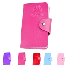 24 Slots Nail Art Stamper Plates Stamping Template Storage Case PU Rectangular Seal Card Package Stamping Plate Holder