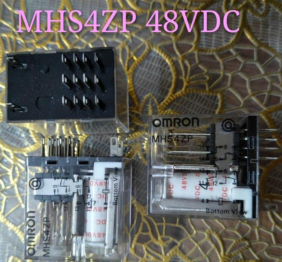 48V تتابع MHS4ZP 48VDC MHS4ZP-48VDC DC48V 48V 14PIN