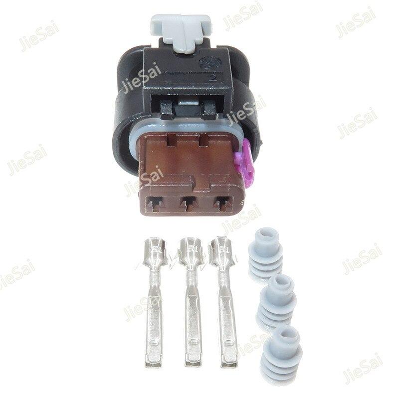 3 Pin 4F0 973 703 Conector do Chicote de Fiação Auto Invertendo Radar Soquete Elétrico Plug 4F0973703 Para VW Audi Land Rover
