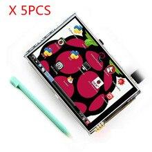 Kostenloser versand 5 teile/los Raspberry Pi 3B LCD 3,5 zoll TFT touch screen Display kit RPI Touchscreen kompatibel Raspberry pi 3