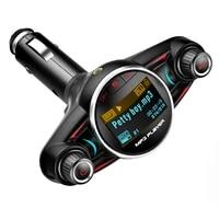 accnic stylish fm modulator handsfree wireless bluetooth car kit tf usb music receiver adatper fm transmitter mp3 music player