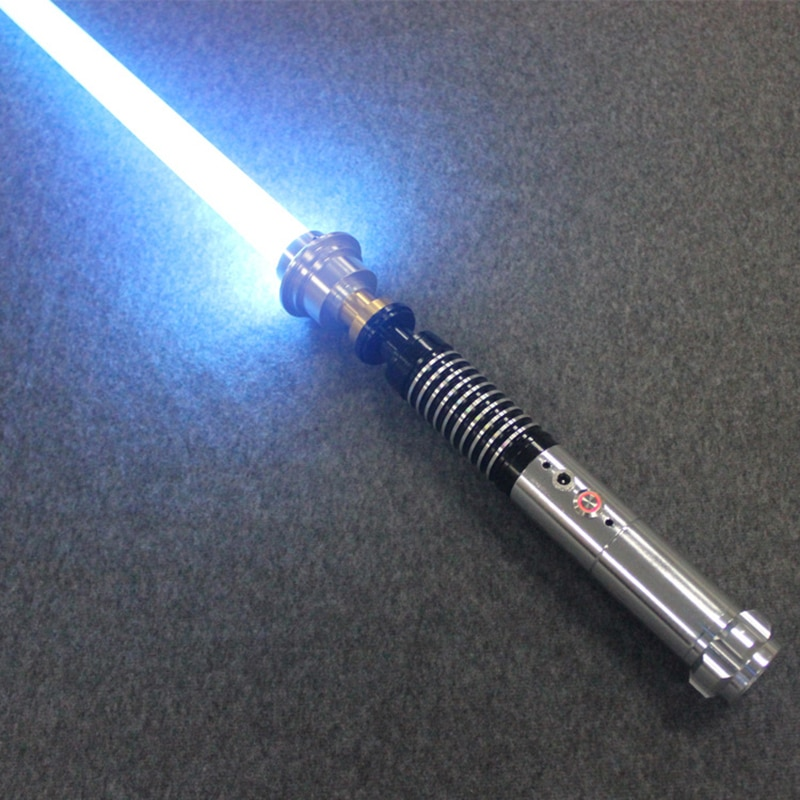 Simulación de 110 CM, Sith Jedi, Luke Lightsaber, LED destello de luz, Sound Force, sable de luz, mango de Metal, espada Cosplsy, juguete luminoso para chico