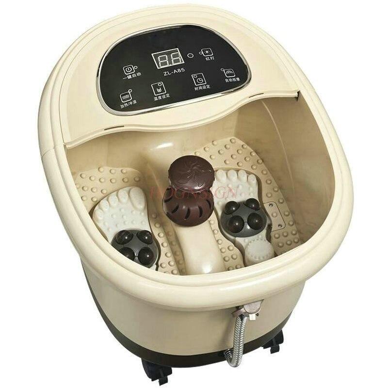 Pés elétricos limpeza banheira do pé massageador automático pedicure massagem amassar barril plantar eletrônico perna limpo venda quente