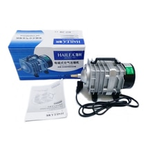 NEW 70L/min 45W Hailea ACO-318 Electromagnetic Air Compressor,aquarium air pump,Fish Tank Oxygen AirPump, Free Shipping