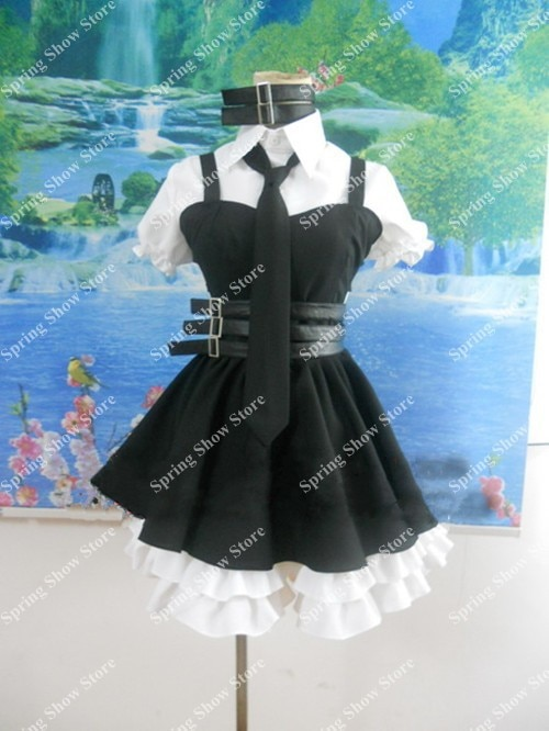 DEATH NOTE  Heroine Amane Misa Anime Custom Made Uniform Cosplay Costume Version 2