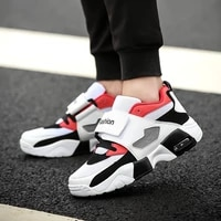 mens shoes casual platform sports running lazy korean version of the breathable student men increased color matching spring new