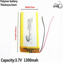 Good Qulity 3.7V e Road route HD-X9 navigator battery 053759 503759 1300MAH GPS three lines