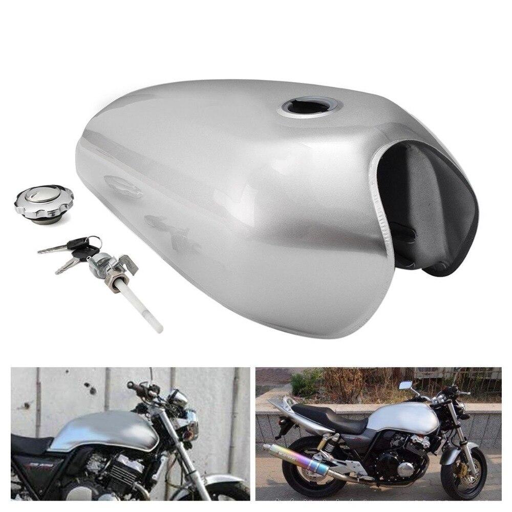 خزان وقود دراجة نارية ريترو لهوندا CG125 CG125S CG250 ، حاوية غاز ، 9 لتر