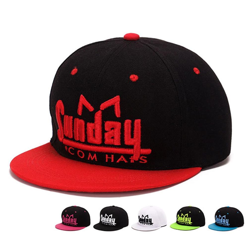Men's Fashion Caps Hip Hop Cap Straight Visor Hat Gorras Baseball Cap Snapback Adjustable Hats Women Hip-hop cap