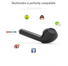 NEUE HBQ-I7 Drahtlose Bluetooth Stereo Headset Drop Verschiffen Freihändiger Sport Stereo Kopfhörer Für iOS Android Handys 5 Farben