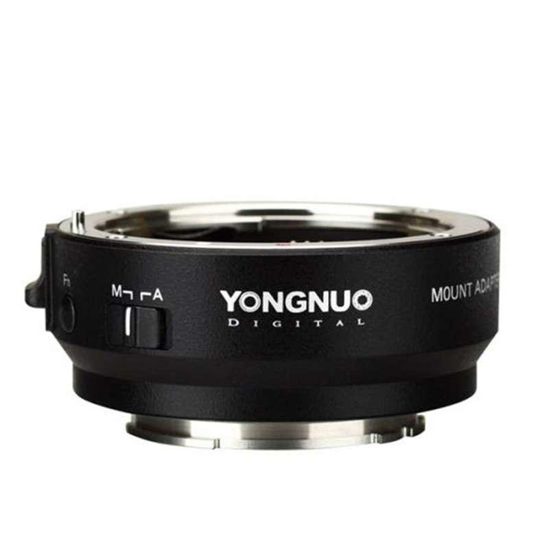 YONGNUO YN-EF-E II Smart Adapter Mount for Canon EF EOS Lens to Sony NEX E-Mount A9 A7 II A7RIII A7SII A6500 Camera