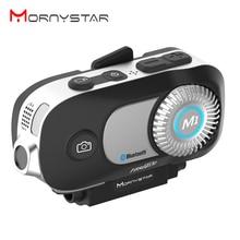 Новый MORNYSTAR M1Pro 800m 4 Riders группа Интерком MP3 HD 1080P видео рекордер камера мотоцикл Bluetooth Интерком шлем гарнитура
